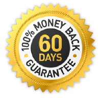60 Days, No Questions Asked, Money Back Guarantee